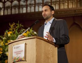 Ricken Patel at the Commonwealth Lecture