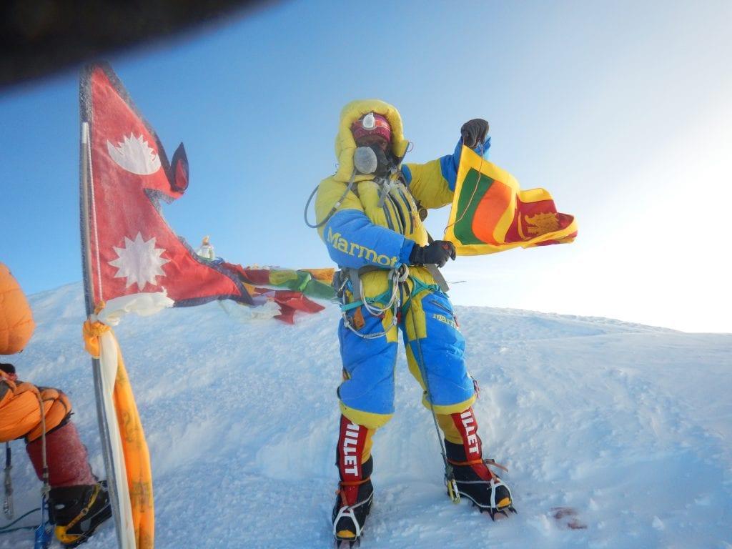 Jayanthi at the summit