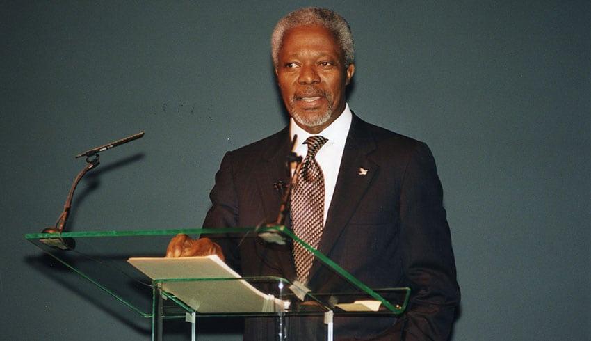 Mr Kofi Annan, Commonwealth Lecture 2000