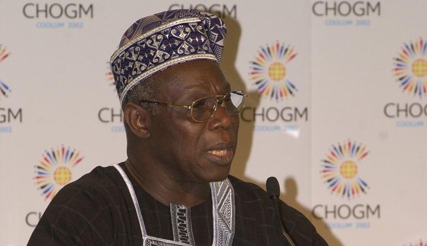 Chief Olusegun Obasanjo, Commonwealth Lecture 2005