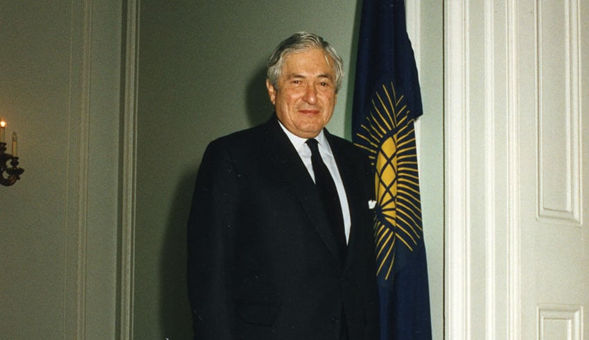 James Wolfensohn, Commonwealth Lecture 2006