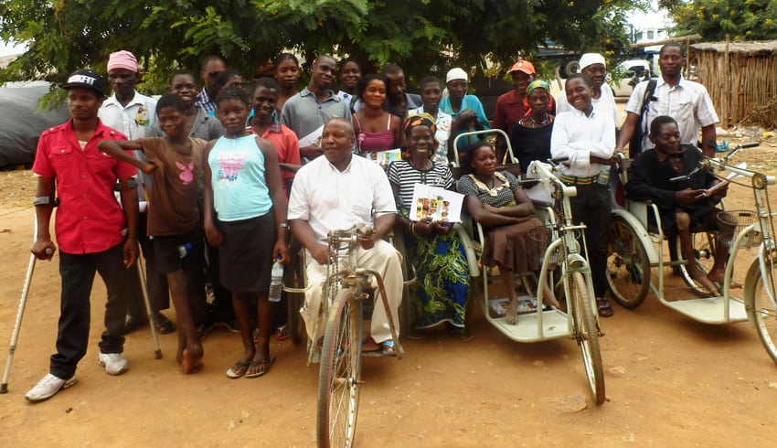 AJODEMO upholding the rights of young disabled people in Mozambique