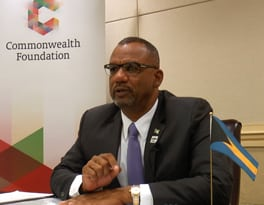 Hon Jerome Fitzgerald Minister of Education The Bahamas Government
